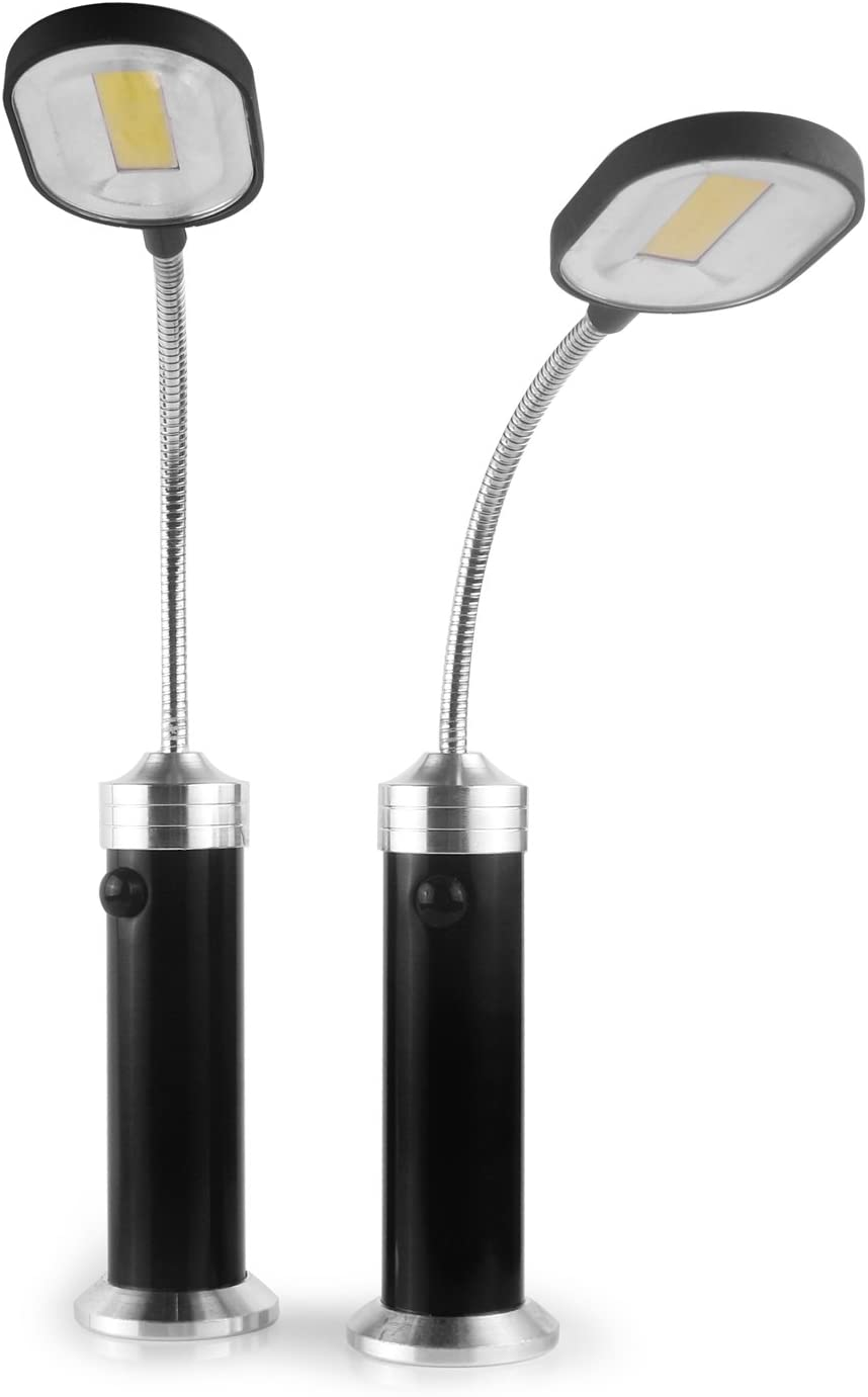 Parrilla LED Luz magnética Barbacoa BBQ Light Set Parrilla Accesorio Negro