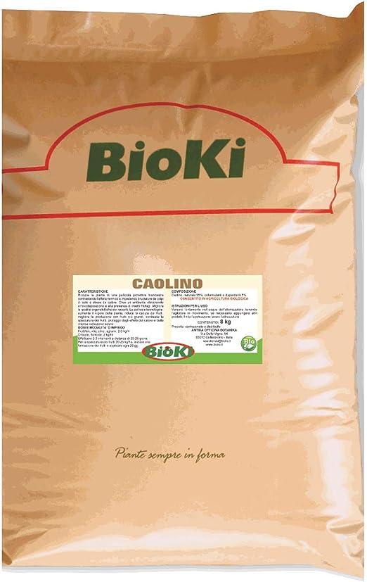 Bioki - Caolín natural para agricultura ecológica, 8 kg: Amazon.es ...