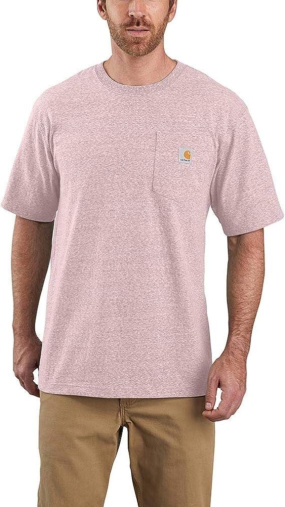Regular and Big /& Tall Sizes Carhartt Mens K87 Workwear Short Sleeve T-Shirt