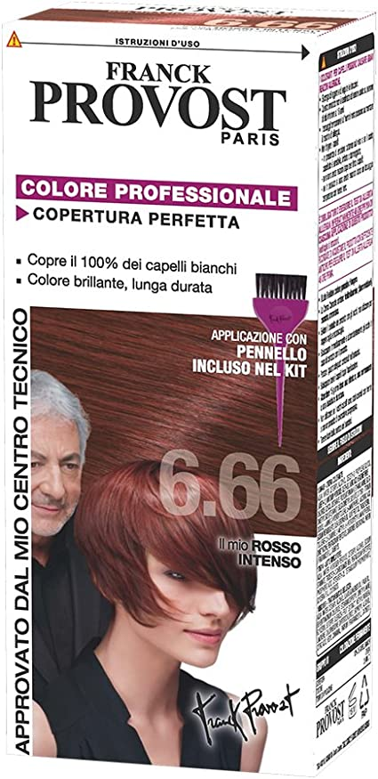 PROVOST 6,66 rosso intenso - Tintes para el cabello