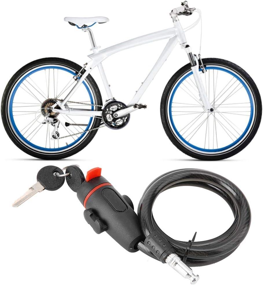 Candado de Bicicleta, Cerradura de Cadena Antirrobo Cadena ...