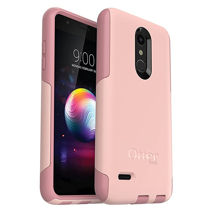 low priced 78f7a 4eb4e OtterBox Commuter Series Case for LG Premier Pro LTE/K30 - Retail Packaging  - Ballet Way (Pink Salt/Blush)