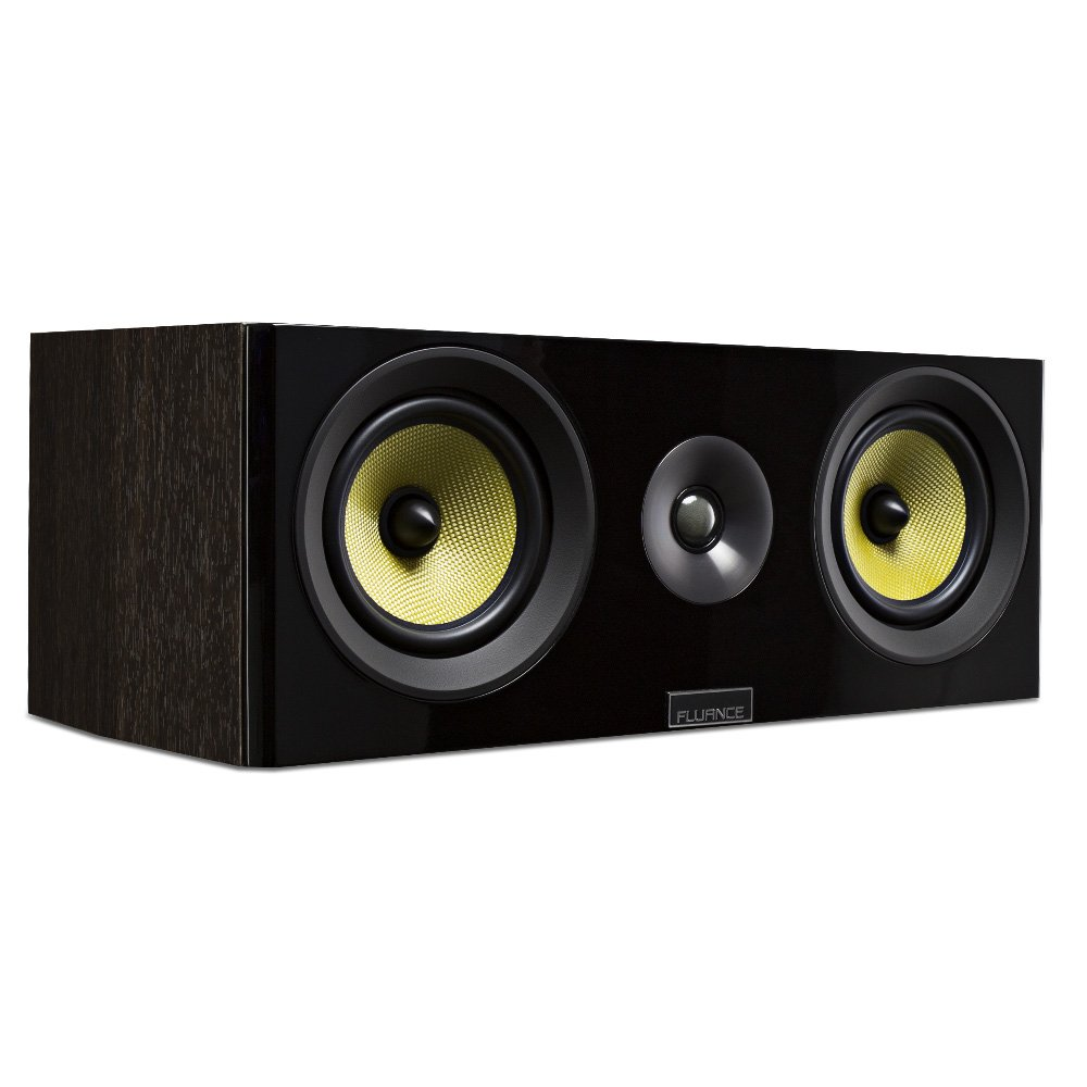 Fluance Signature Series HiFi Two-Way Center Channel Speaker for Home Theater (HFCW)