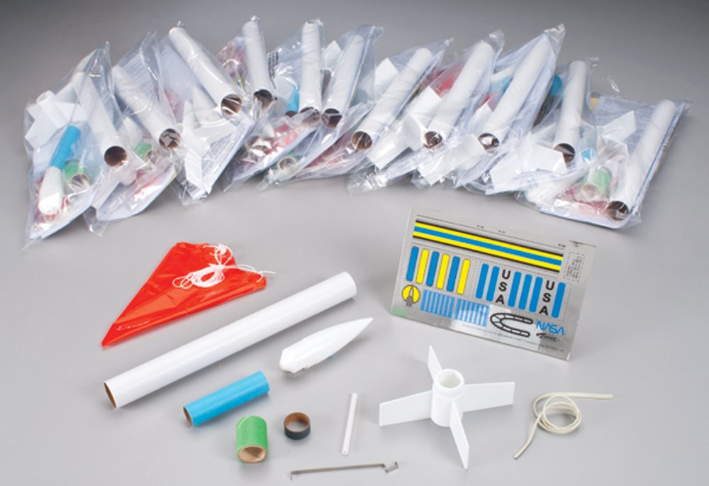 Estes Generic E2X Rocket Bulk Pack (Pack of 12)