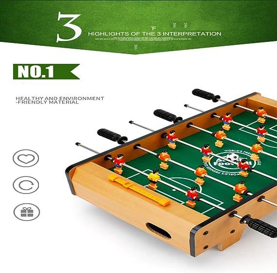 Table soccer El minijuego de fútbol portátil Tiene Dos Pelotas y un Tutor de puntuación para Adultos y niños. Play! El para tu Hijo.: Amazon.es: Hogar