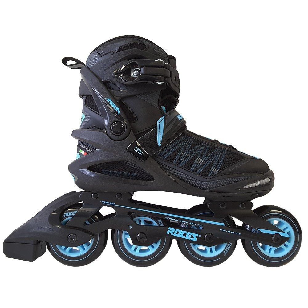 Roces 400768 Women's Model Argon Fitness Inline Skate, US 9, Black/Azure