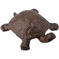 Esschert Design Tartaruga decorativa de ferro fundido, grande