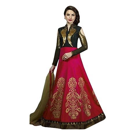 45b2beca6ad Amazon.com  Christian Wedding Black   Pink Gown Anarkali Suit Dress  Pakistani Custom to Measure Muslim Eid Stock  Home Improvement