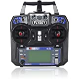 Fly Sky FS I6 2.4 G 6 Ch AFHDS RC Transmitter With FS I A6 Receiver Left Hand