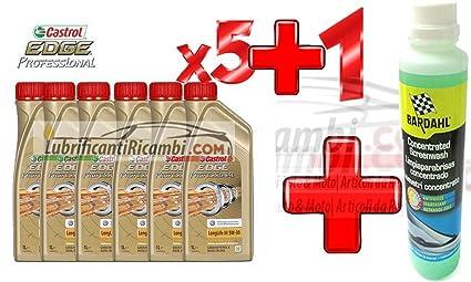 Bardahl - 5 litros aceite de motor Castrol edge FST Longlife ...