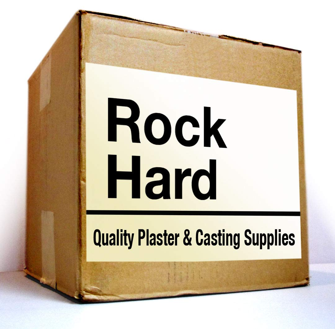 HYDROSTONE 30 Minute Set - 25 lb Bag - One of The Hardest Plaster - Great for Casting, Model Railroad, Mold Casting - Made in The USA