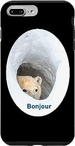 iPhone 7 Plus/8 Plus Bonjour Bear Meme Case