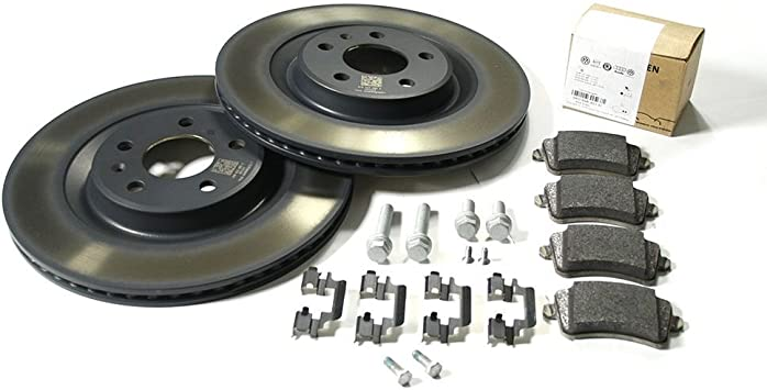 Original Audi A4 S4 A5 S5 Q5 Sq5 Bremsenkomplettsatz Hinterachse Nur Pr Nr 1ke 1kp Bremsen Bremsscheiben Bremsbeläge 8k0098601h Auto