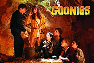 Global Prints The Goonies Cast in Cave Movie Poster 36x24 inch