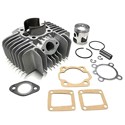 Amazon com: Tomos A35 44mm (70cc) Cylinder Kit with Gaskets