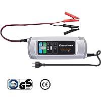 Excelvan C9305 - Cargador de Baterias de Coche, 5A, 6/12V, 3 Pasos Cargador Automático Inteligente, para Baterías de…