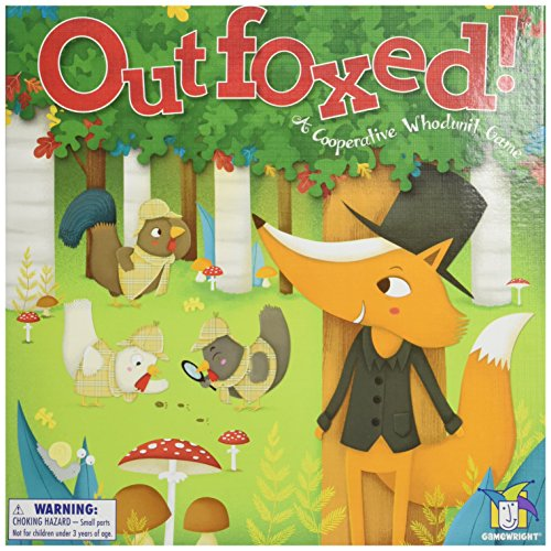 Gamewright 418 Outfoxed Game Board