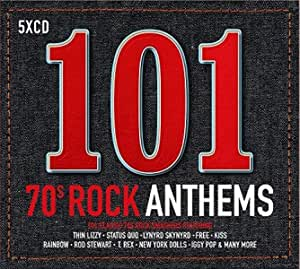 101 70S Rock Anthems Cd Box Set