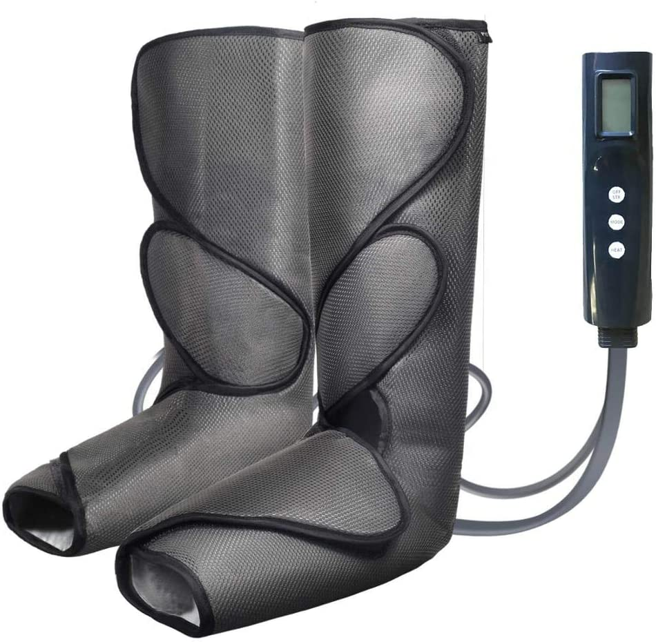 Leg Massager Foot and Calf Massager Air Compression 2 Modes 3 Intensities by PrimeTime Sports