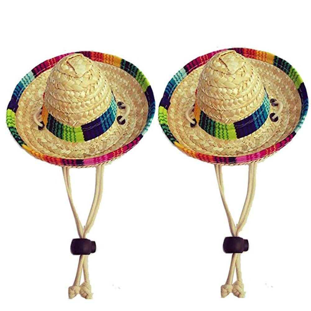 Amazon.com   Dogs Sombrero Hat Dogs Sun Hat Party Hats for Dogs Mexican  Style Hat for Dogs and Cats Funny Dog Costume   Pet Supplies 249b94a05c3