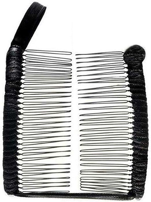 Vintage Banana Hair Clip Christmas Hair Accessory Stretchable Banana Comb Gift #