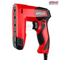 Apollo Electric Dual Function Staple Gun & Brad Nailer, including 400 x 10mm Staples and 100 x 14mm Brad Nails