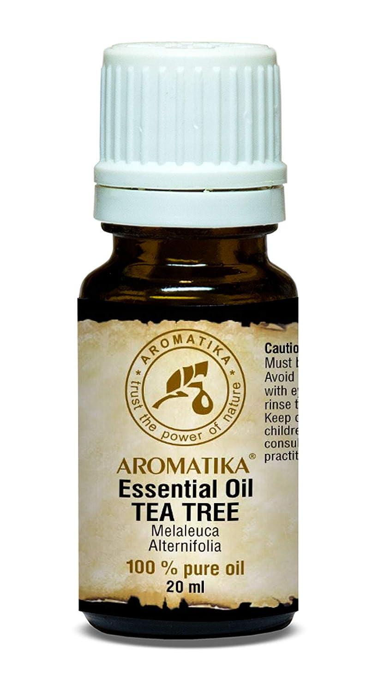 Olio essenziale di Tea Tree 20 ml 100% puro e naturale - Melaleuca Alternifolia - Australia - Bottiglia di vetro marrone - Miglior antisettico - Crescita ...