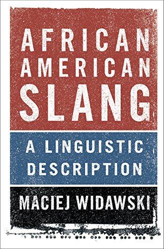 Search : African American Slang: A Linguistic Description
