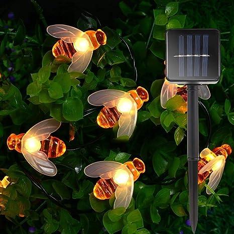 MUYIER Las Luces De Estaca De Jardín Solar, La Luz De Iluminación De Paisaje Solar LED