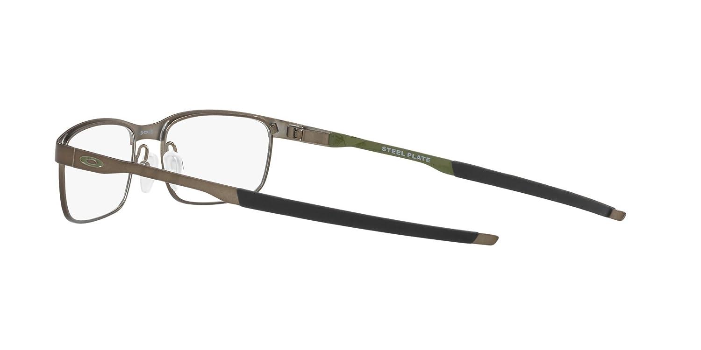 fa9778e01c5 Amazon.com  OAKLEY OX3222 - 322205 STEEL PLATE Eyeglasses 52mm  Clothing