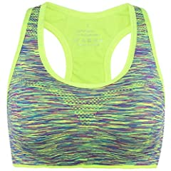 7041cd249c Vermilion Bird Women s High Impact Sports Bra Seamless Racerb .