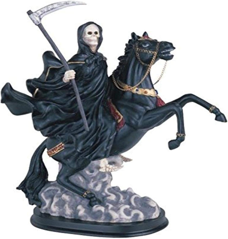Santa Muerte en caballo