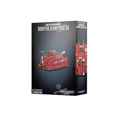 Warhammer 40K: Adeptus Mechanics Skorpius Disintegrator: Toys & Games
