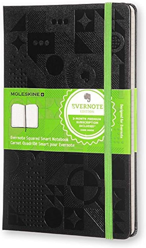 Moleskine Evernote Smart Notizbuch Schwarz Moleskine Amazon De Bürobedarf Schreibwaren