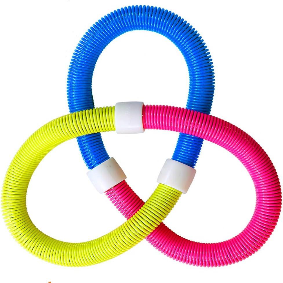 perdez du poids rapidement par une fa/çon amusante de faire de lentra/înement Zalas Redseasons Hula cerceau pour adultes avec corde /à sauter offerte facile /à tourner de qualit/é sup/érieure et rembourrage doux