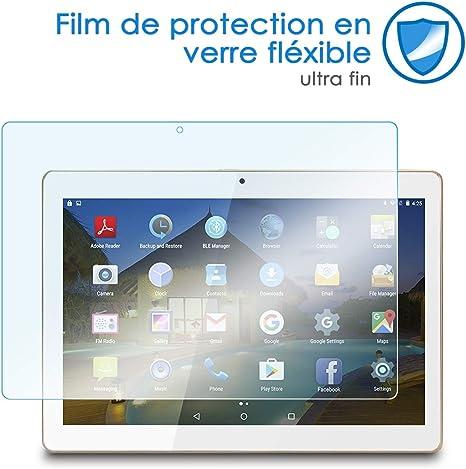 Bruni Protecteur d/écran pour Pocketbook InkPad 3 Film Protecteur 2X Cristal Clair /Écran Protecteur