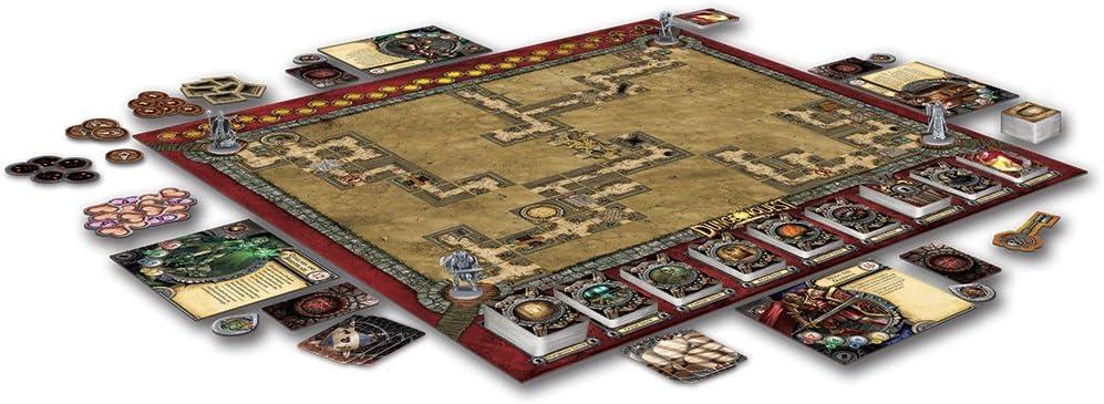 Fantasy Flight DungeonQuest revisado Junta Edición Juego: Amazon.es: Juguetes y juegos