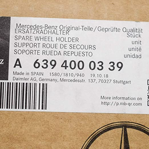 853569 soporte Brodit ProClip para Mercedes Benz Viano modelo año 2004-2014