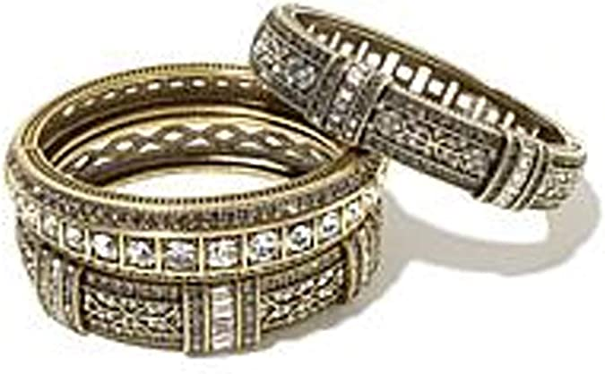 DiamondJewelryNY Bangle Bracelet Aqua Crystal Bangle