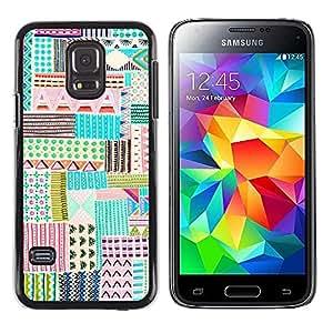 Be Good Phone Accessory // Dura Cáscara cubierta Protectora Caso Carcasa Funda de Protección para Samsung Galaxy S5 Mini, SM-G800, NOT S5 REGULAR! // Child Hand Drawing Cute Pen Art