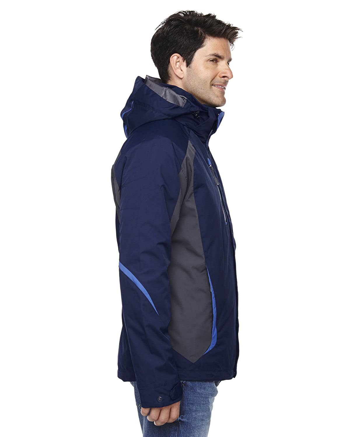 88195 S -NIGHT 846 North End Mens 3-In-1 Jackets With Insulated Liner