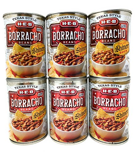 (HEB Borracho Beans Made with Shiner Bock Beer 15oz (Pack of 6))