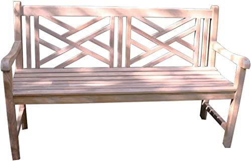 Titan Great Outdoors Grade A Teak Cross Bench 59