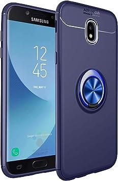 RUIST Funda para Samsung Galaxy J5 2017,Anillo de Metal Soporte ...