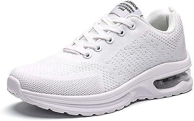 AYBOXIAO - Zapatillas de running de Alpaca para hombre Beige blanco Talla única: Amazon.es: Ropa y accesorios