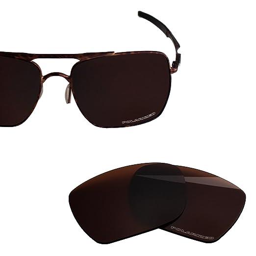 2732d93c03 BlazerBuck Anti-salt Polarized Replacement Lenses for Oakley Deviation -  Amber
