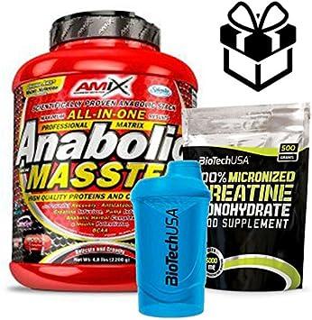 Amix Anabolic Masster 2,2 kg Vainilla + Creatine + Batidor