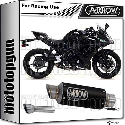 ARROW TUBO DE ESCAPE DBK RACE GP2 CON FONDO INOX EN NICHROM ...