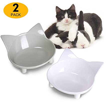 Cat Supplies Double Cat Bowl