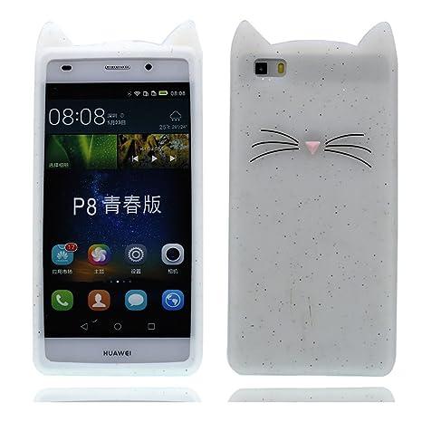 Funda Huawei P8 Lite, Carcasa Huawei P8 Lite, TPU Premium ...